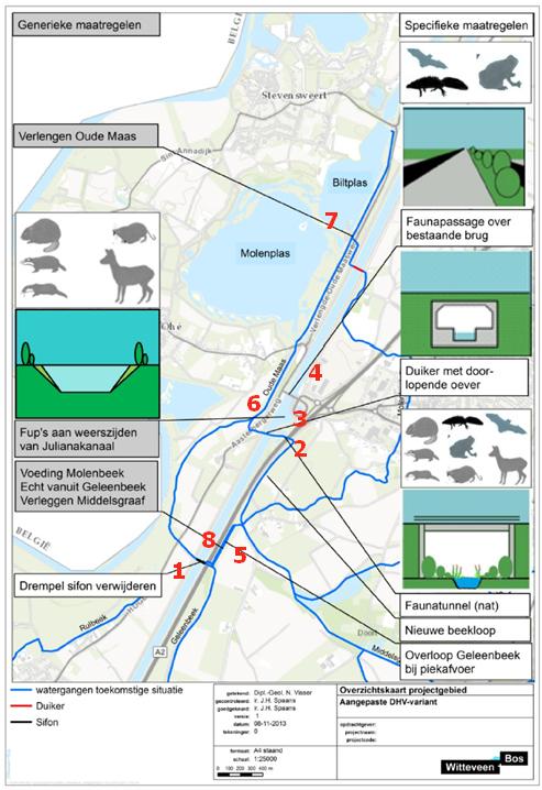 Ontwikkeling a2 en corridor geleenbeek nabij dieteren - Corridor ontwikkeling ...