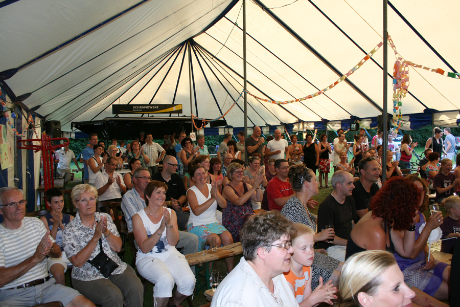 Volle tent
